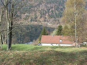 toit et vue sur lac